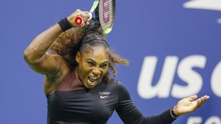 Serena Williamsová ve finále US Open