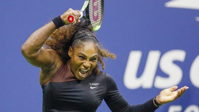 Serena Williamsová ve finále US Open