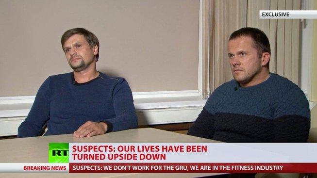 Rusové, které Britové viní z útoku na Skripalovy