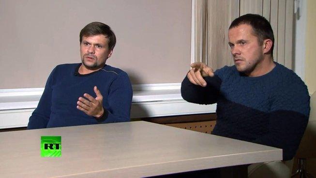 Muži podezřelí z útoku na Skripalovy