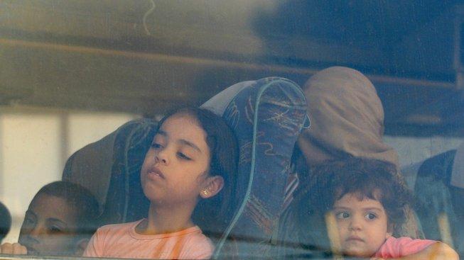 Dětští uprchlíci ze Sýrie, ilustrační snímek