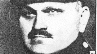 Rudolf Mokrý, velitel četnické stanice v Liptani