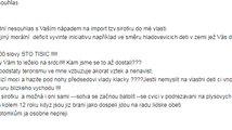 Příklady e-mailů, které chodí na adresu europoslankyně Šojdrové
