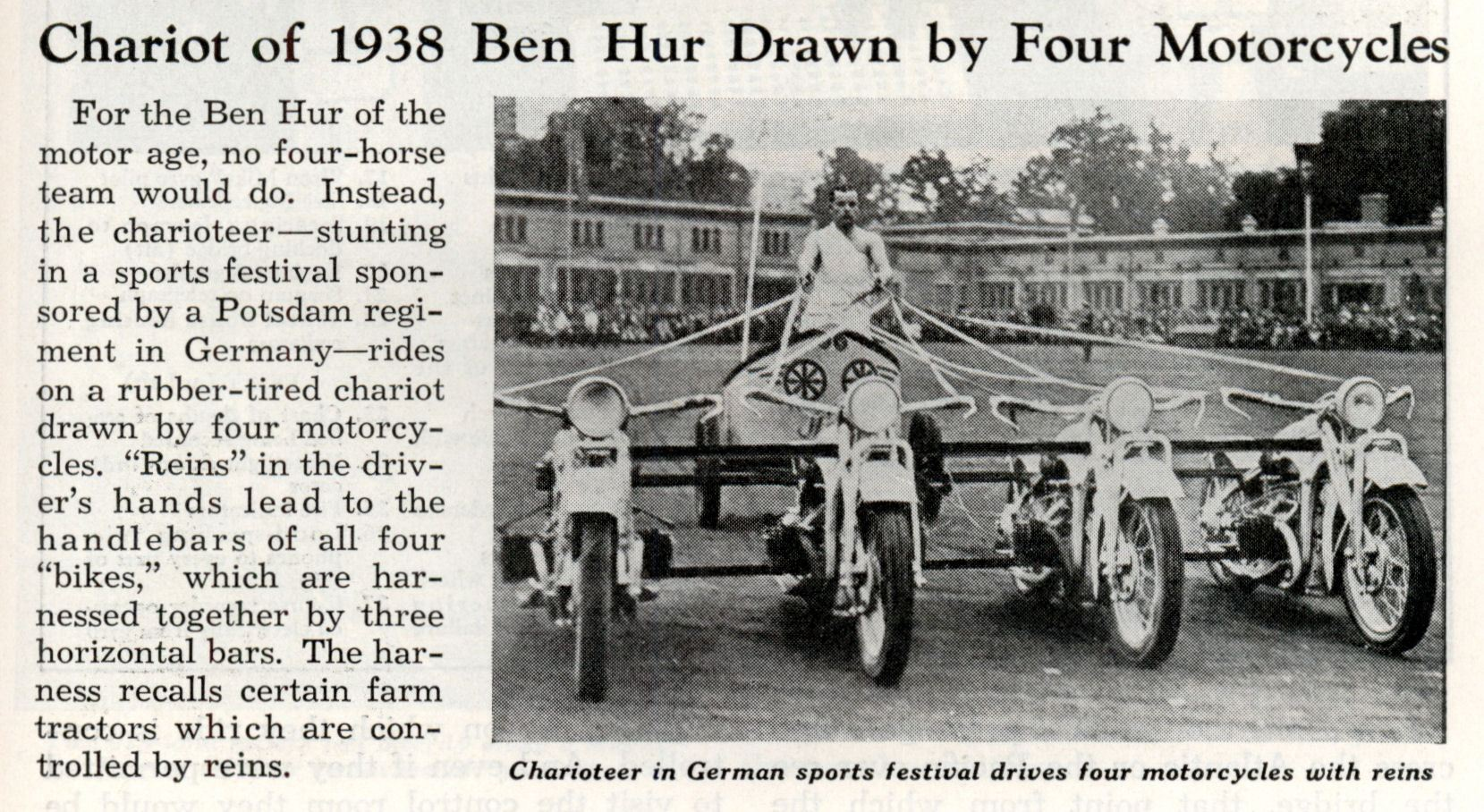 Four-Motorcycle-Chariot