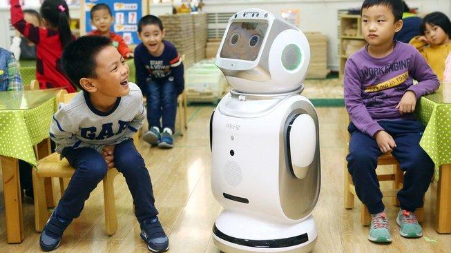"""Robot Keeko """"vyučuje"""" už na šesti stovkách čínských školek"""