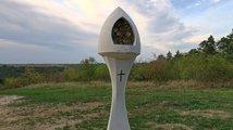 Budeč, včelí boží muka sv. Václava