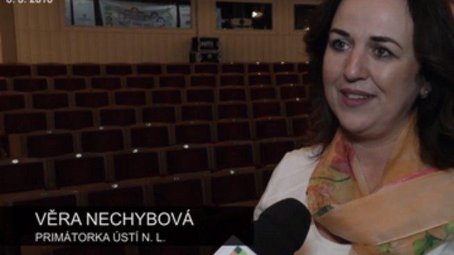 Záběr z reportáže