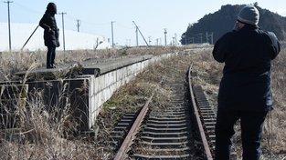 """Opuštěná železniční zastávka v městě Tomioko a vyznavači """"temné turistiky"""""""
