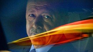Recep Tayyip Erdogan na návštěvě Německa