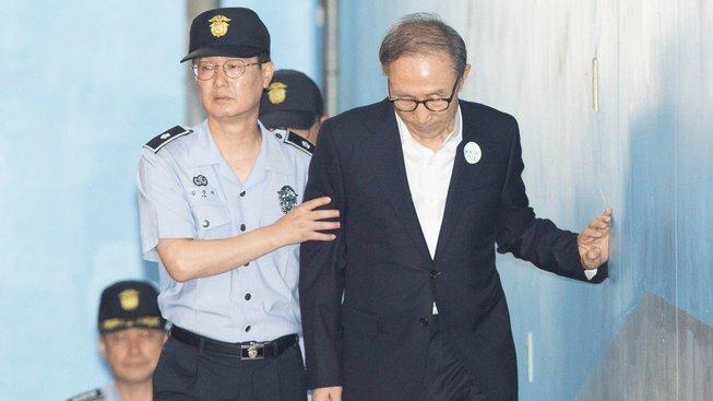 Souzený exprezident během procesu
