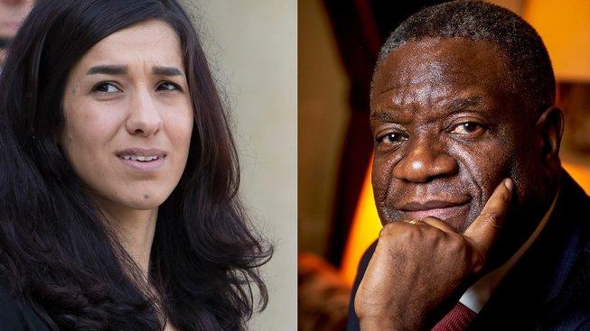 Nadja Muradová a Denis Mukwege