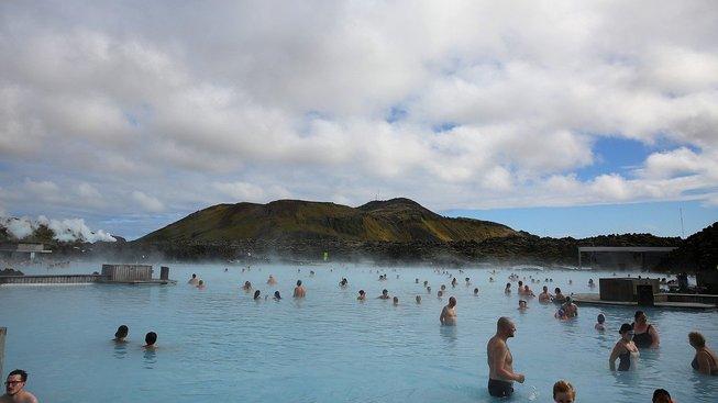 Islandská ekonomika je nyní postavena hlavně na turistickém ruchu. Ilustrační snímek