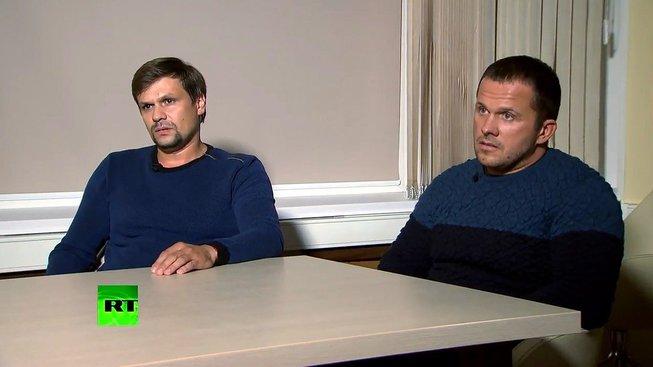 Muži, které Britové viní z útoku na Skripalovy