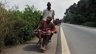 Průměrná délka života na Pobřeží slonoviny jen 55 let. Ilustrační snímek