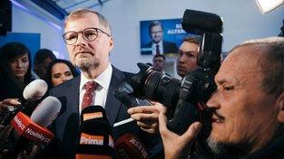 Výsledek ODS označil její šéf Petr Fiala za první vítězství strany po devíti letech