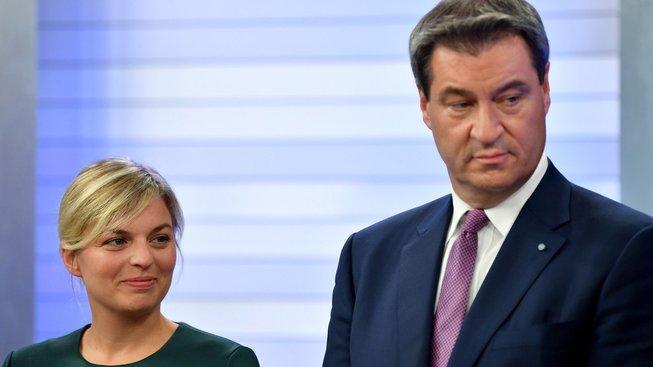 Katharina Schulzeová a Markus Söder: Kdo je vítěz - a kdo poražený?