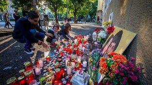 Pieta k uctění památky Jána Kuciaka a jeho snoubenky