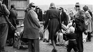 """Norské ženy s """"válečnými"""" dětmi"""