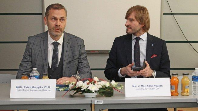 Evžen Machytka byl ředitelem nemocnice v Ostravě jen pár měsíců