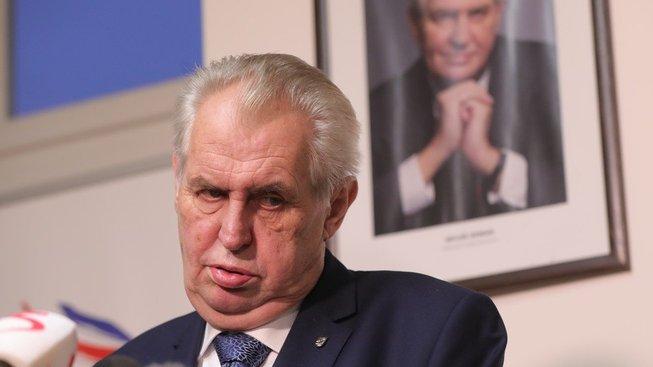 Miloš Zeman, hlava státu a jeho vizitka