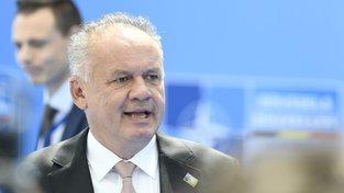 Slovenský prezident byl výrokem soudce překvapen