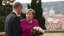 EU je vícerychlostní, všichni by však měli mít možnost spolupráce, řekla Merkelová v Praze