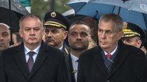 Tečka za oslavami: Zeman v Martině chválil EU i blízkost Čechů a Slováků