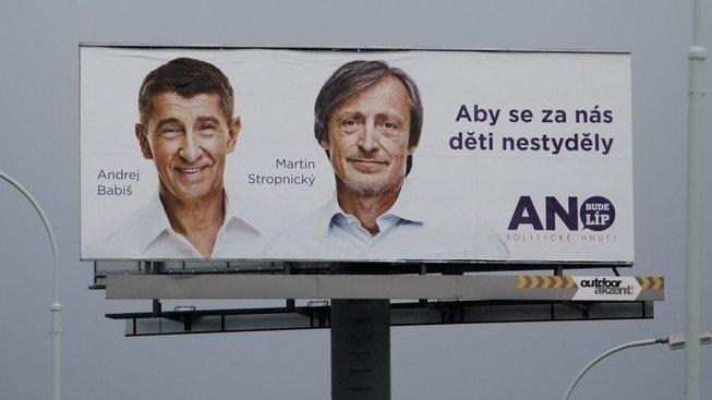 Slogan z voleb v roce 2013. Patří se Babišovi a spol. připomenout