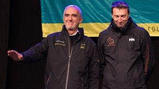 Fabrice Payen (vpravo) se jachtařského závodu nebojí
