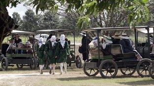 Mennonité jsou podobnou sektou jako amišové, jen jsou o trošinku modernější