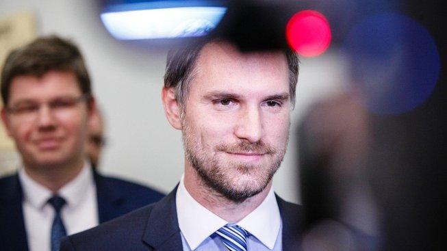 Budoucí primátor Zdeněk Hřib a lídr Spojených sil pro Prahu Jiří Pospíšil