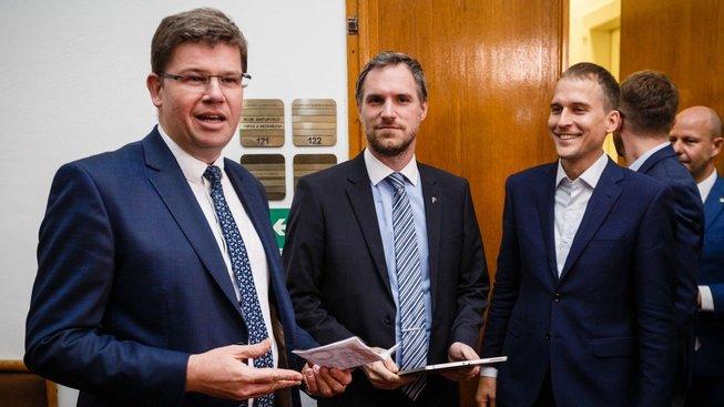 Jiří Pospíšil, Zdeněk Hřib a Jan Čižinský