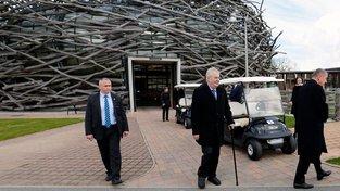 Miloš Zeman na návštěvě Čapího hnízda. Padesát milionů (dotace pro farmu) je pod mé rozlišovací schopnosti, pravil prezident