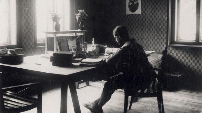 Český spisovatel a první česká tramp Zdeněk Matěj Kuděj