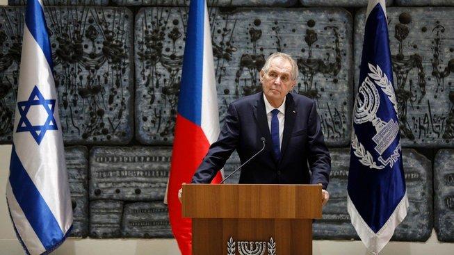 Prezident Miloš Zeman na návštěvě Izraele