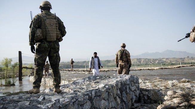 Čeští vojáci v Afghánistánu, ilustrační snímek