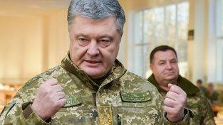 Ukrajinský prezident Petro Porošenko burcuje NATO.