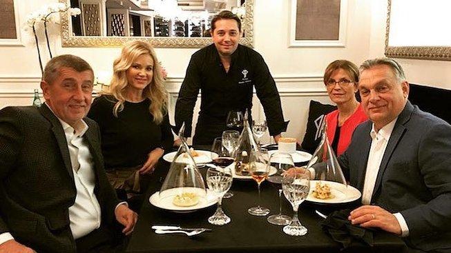 Návštěva Viktora Orbána v Česku