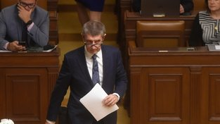 """Podle premiéra Andreje Babiše byl únik zprávy """"načasován""""."""