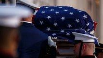 Washington se rozloučil s bývalým prezidentem Georgem Bushem starším