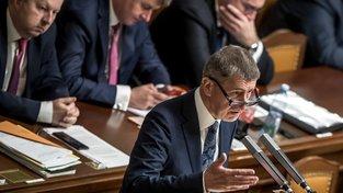 Premiér Andrej Babiš je proti přijetí sirotků