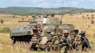 Ministerstvo obrany pořídí 62 pásových obrněných vozidel pěchoty