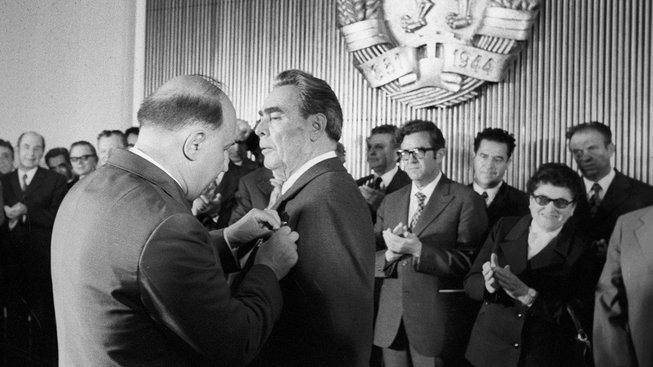 Leonid Brežněv miloval ocenění a řády