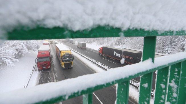 Problematický úsek na D1 byl minulý týden noční můrou mnoha řidičů.