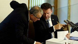 Miroslav Kalousek patří mezi největší kritiky navrhovaného rozpočtu.