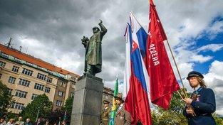 Socha maršála Koněva v Praze 6