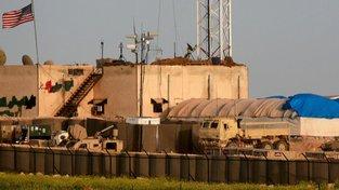 Americká základna v Sýrii