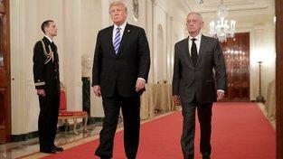 Donald Trump a James Mattis
