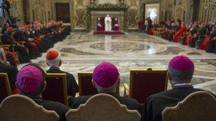 Páteční vánoční proslov k římské kurii