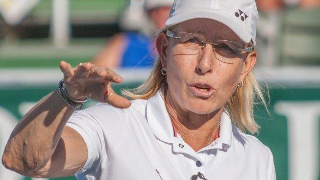 Martina Navrátilová, tenisová legenda pronásledovaná smečkou transgender žen